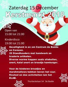 Kerstmarkt 2018 Centrum De Baddecentrum De Badde